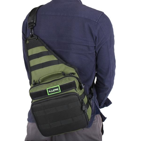 iLURE フィッシングタックルバッグ バックパック クロスボディー メッセンジャー スリングバッグ|synergy2|05