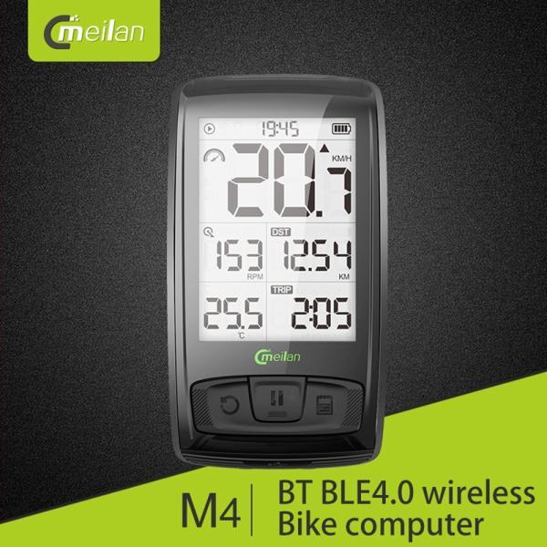 Bluetooth ワイヤレスサイクルコンピューター IPX5防水 2.5インチ液晶ディスプレイ|synergy2