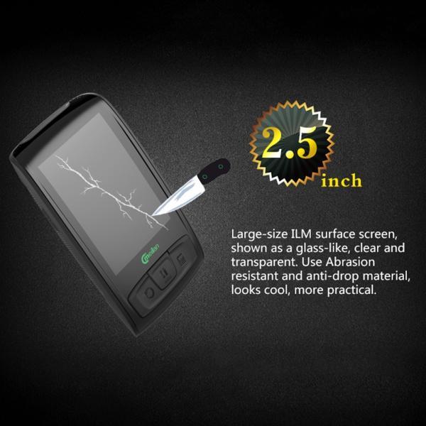 Bluetooth ワイヤレスサイクルコンピューター IPX5防水 2.5インチ液晶ディスプレイ|synergy2|07