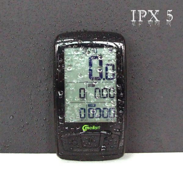 Bluetooth ワイヤレスサイクルコンピューター IPX5防水 2.5インチ液晶ディスプレイ|synergy2|08