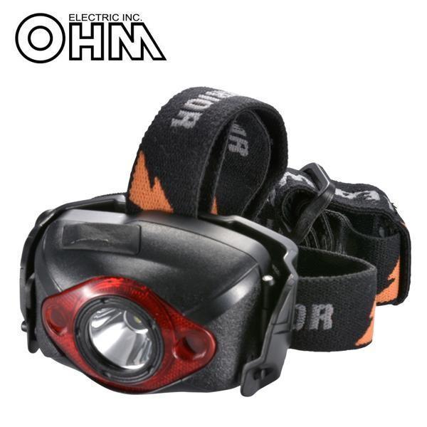 オーム電機 OHM LEAD WARRIOR LEDヘッドライト LED-YH6K
