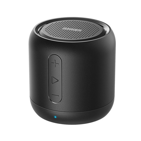 送料無料 Anker SoundCore mini コンパクト Bluetoothスピーカー 15時間連続再生  マイク搭載 microSDカード対応|synergyselect