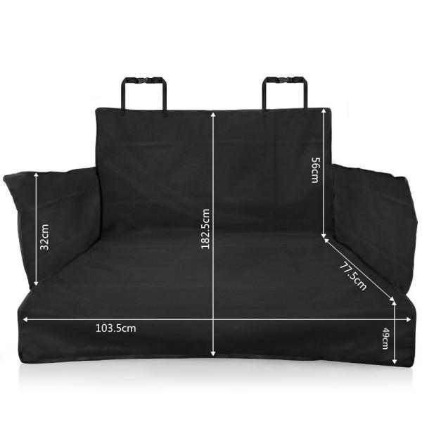 送料無料 ペット用ドライブシート 新型 トランクマット  ペットシート  車載カバー 防水 水洗い可能 取り付け簡単 折り畳み式 synergyselect 02