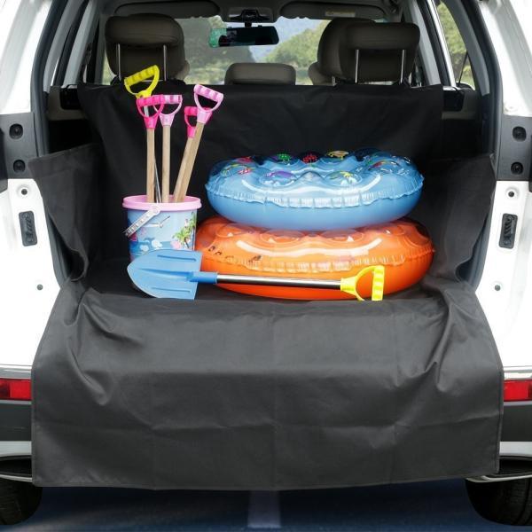 送料無料 ペット用ドライブシート 新型 トランクマット  ペットシート  車載カバー 防水 水洗い可能 取り付け簡単 折り畳み式 synergyselect 09