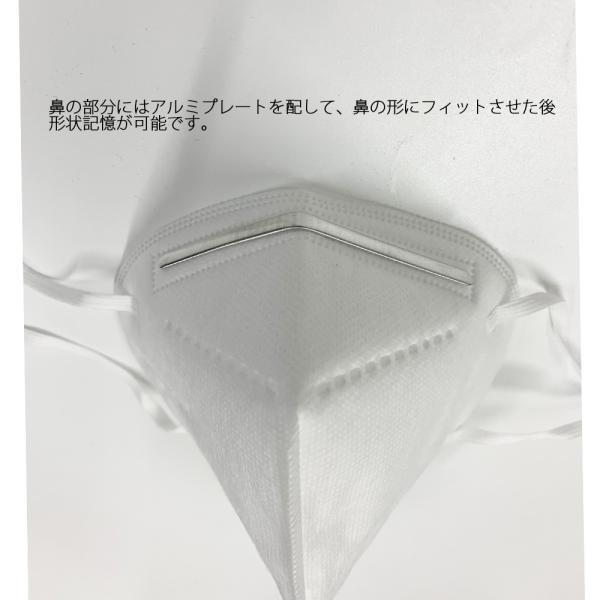 即納 KN95規格 3層式 3Dマスク 最大約72時間 約3日 のご使用が可能 医療用|synergyselect|03