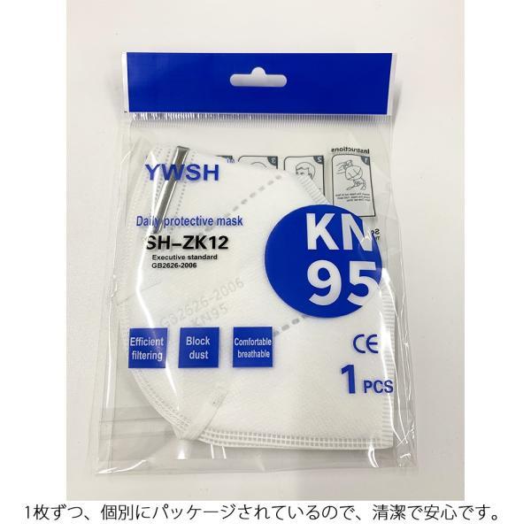 即納 KN95規格 3層式 3Dマスク 最大約72時間 約3日 のご使用が可能 医療用|synergyselect|05
