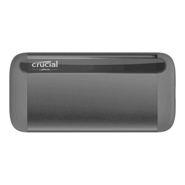 CrucialX8外付けSSD1TB PS5/PS4動作確認済み USB3.2Gen2対応最大読込速度1050MB/秒正規代理店