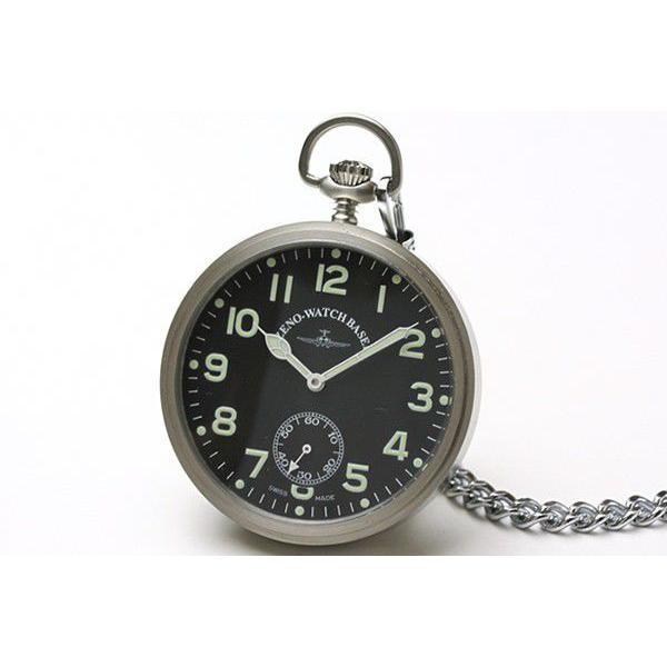 10倍ポイント/ZENOWATCH/ゼノウォッチ/懐中時計/手巻き式/3533-al-matt[正規輸入品]|syohbido-store