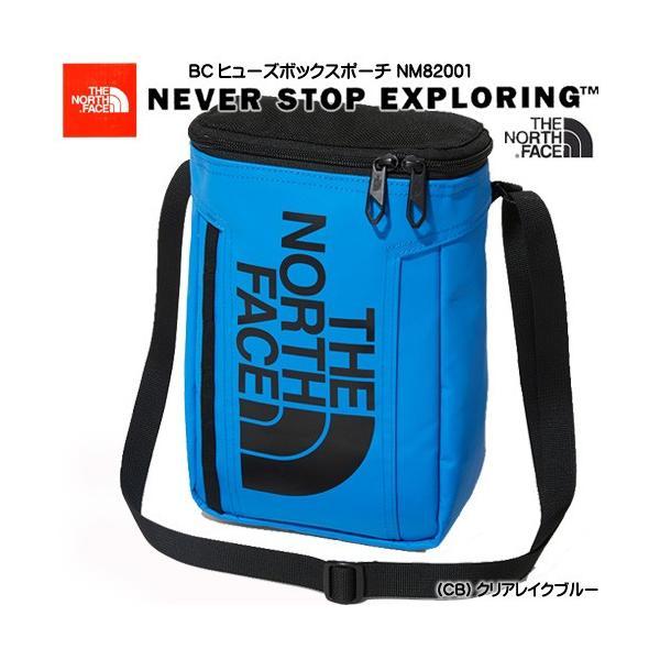 【20%OFF】 ノースフェイス THE NORTH FACE ショルダーバッグ BCヒューズボックスポーチ NM82001 CB クリアレイクブルー ミニショルダー ミニバッグ メンズ