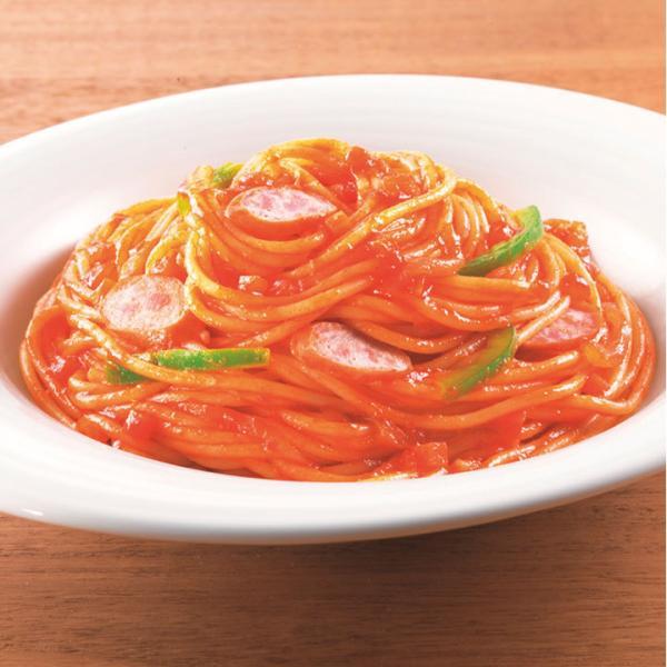 冷凍食品 業務用 レンジ用スパゲティ ナポリタン 1食 260g 104314 軽食 朝食 バイキング 簡単 温めるだけ イタリアン スパゲティ パスタソース レンジ