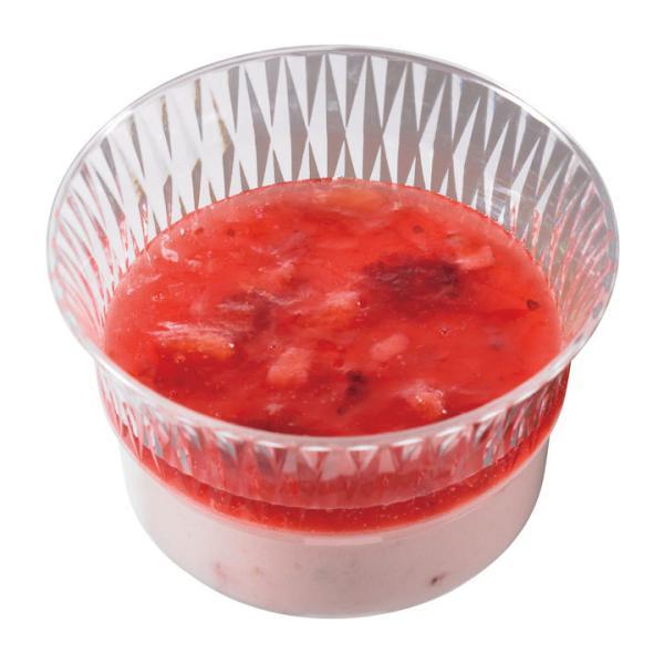 冷凍食品 業務用 ミニカップデザート いちごミルク 約23g×10個入 10991 バイキング パーティー 冷凍 洋菓子 ケーキ