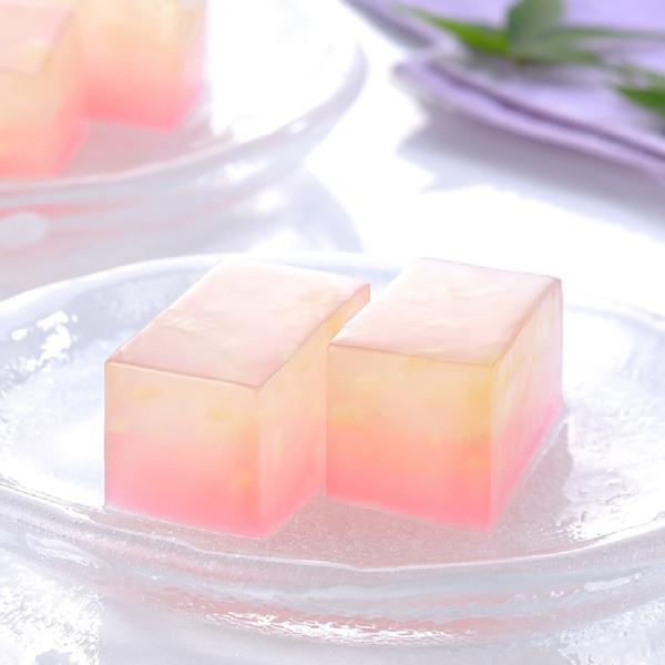 冷凍食品 業務用 水菓子 白桃羹 360g (カットなし) 11560 白桃果実 桜色のあん 和菓子 水菓子