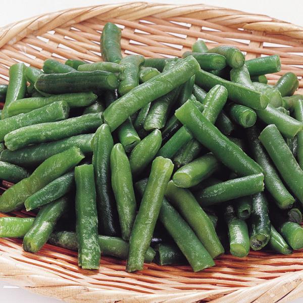 冷凍食品 業務用 インゲンカット (B) 500g (約30〜70mm) 119001 弁当 人気商品 簡単 時短 冷凍 野菜 やさい 食材