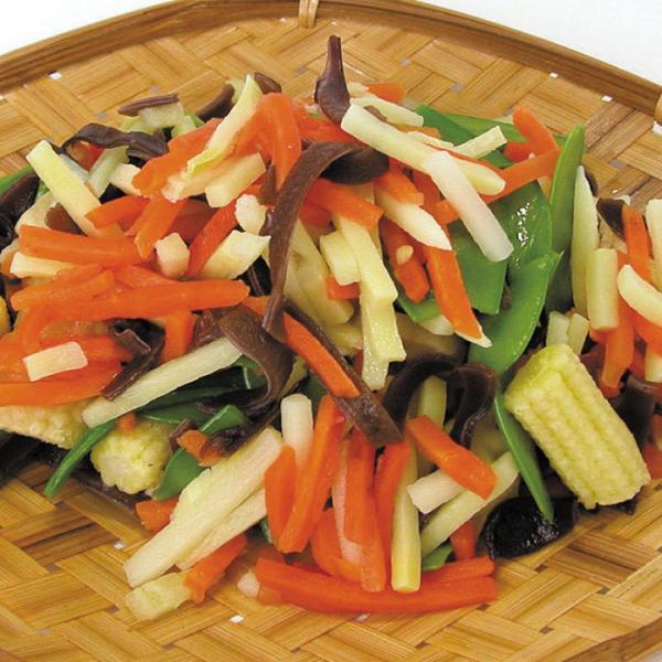冷凍食品 業務用 中華野菜ミックス 500g 119022 弁当 筍 人参 インゲン ヤングコーン マッシュルーム カット野菜 ミックス 業務用