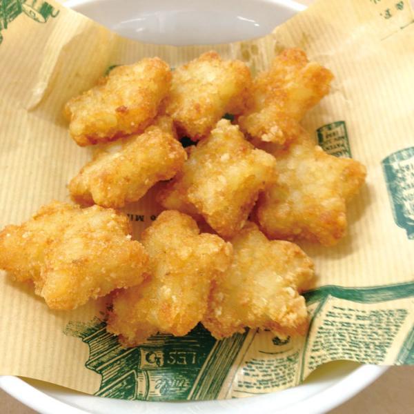 冷凍食品 業務用 星ポテ 1kg (約95〜100個入) 12162 弁当 星型 かわいい フライ パーティー 文化祭 おやつ お菓子