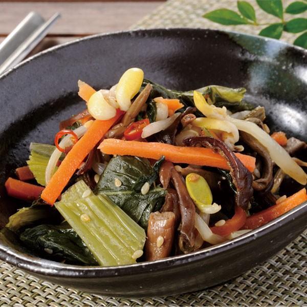 冷凍食品 業務用 ビビンバナムル 250g 12204 弁当 一品 野菜 業務用 どんぶり 丼 韓国 一品 びびんば