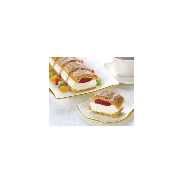 冷凍食品 業務用 フリーカットケーキシュークリーム (いちご) 335g (カットなし) 12212 バイキング パーティー ケーキ 洋菓子 スイーツ デザート