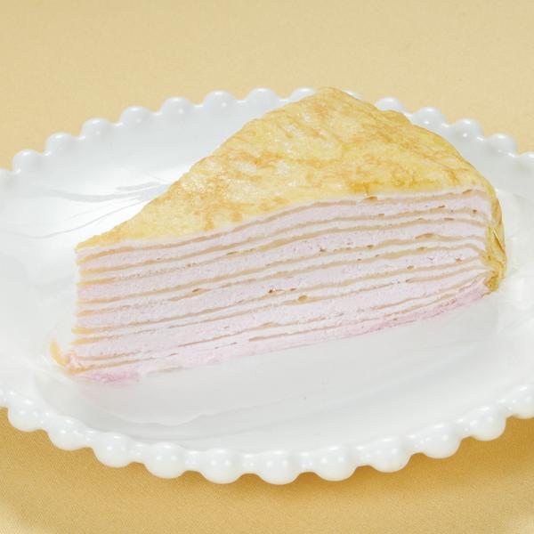冷凍食品 業務用 北海道ミルクレープ いちご 320g (4個入) 12468 苺 洋菓子 ケーキ あまおう 洋菓子 スイーツ