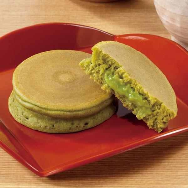 冷凍食品 業務用 和のパンケーキ (抹茶クリーム) 約25g×8個入 12562 和菓子 和風デザート 文化祭 レンジ