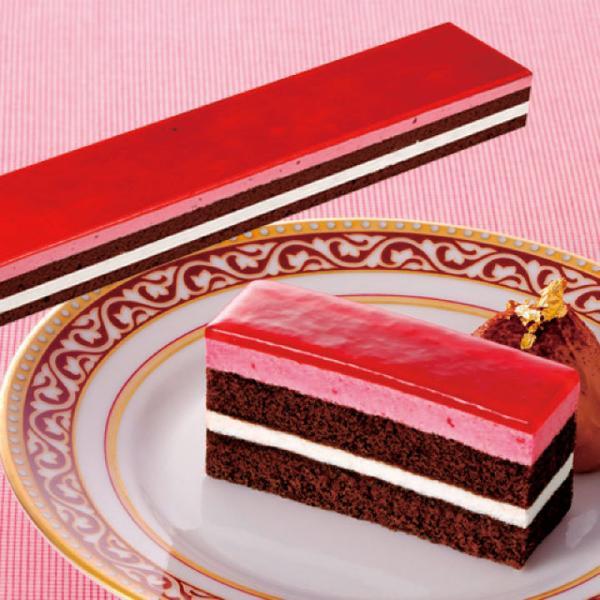 冷凍食品 業務用 フリーカットケーキ サワーチェリー 430g (カットなし) 12577 ヨーグルト ムース ケーキ