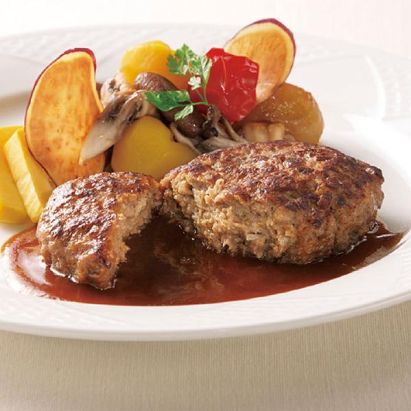 冷凍食品 業務用 RUハンバーググロッソ 110g 13151 弁当 焼目 肉厚感 冷凍 ハンバーグ 洋食 牛肉 レンジ
