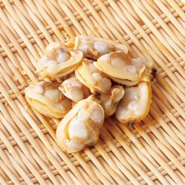 冷凍食品 業務用 ボイル剥き身 あさり IQF 1kg (約300〜500個入) 13204 弁当 お刺身 寿司ネタ 自然素材 魚介類 アサリ