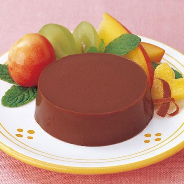 冷凍食品 業務用 チョコプリン (豆乳) 30g×40個入 13312 個包装 パーティー 給食 デザート ケーキ スイーツ ぷりん ちょこ