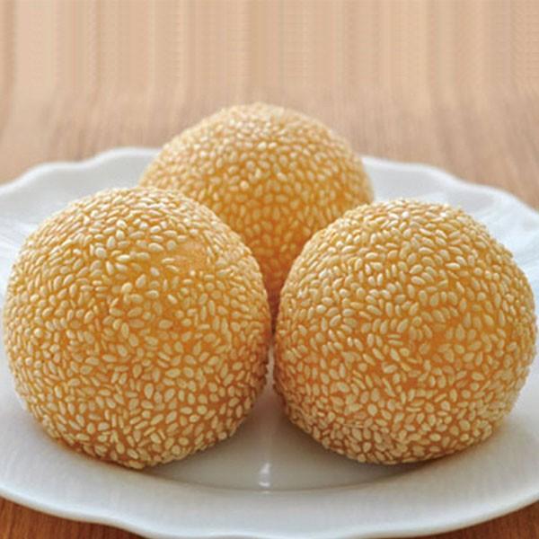 冷凍食品 業務用 ごま団子 (紅小豆餡) 約27g×20個入 13937 だんご 胡麻 中華 揚げ菓子 甘味 デザート