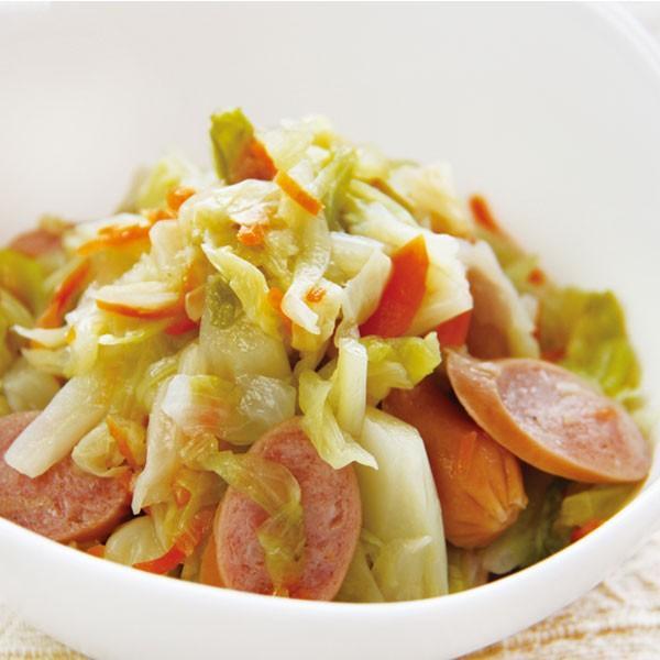 冷凍食品 業務用 キャベツとウインナーのソテー 500g (固形 約400g) 16113 弁当 一品 野菜 惣菜 洋風調理 洋食 野菜料理 オードブル