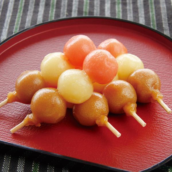 冷凍食品 業務用 秋の三色プチ団子 15本入 17102 販売期間 9月-11月 三色団子 甘味 和菓子 おやつ