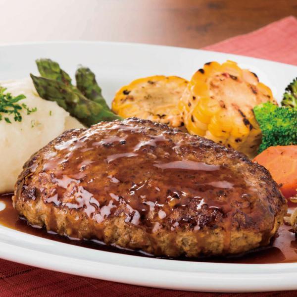 冷凍食品 業務用 ザ・ビーフハンバーグ 約227g×5個入 17194 弁当 肉感 ジューシー感 冷凍 ハンバーグ 肉料理 レンジ