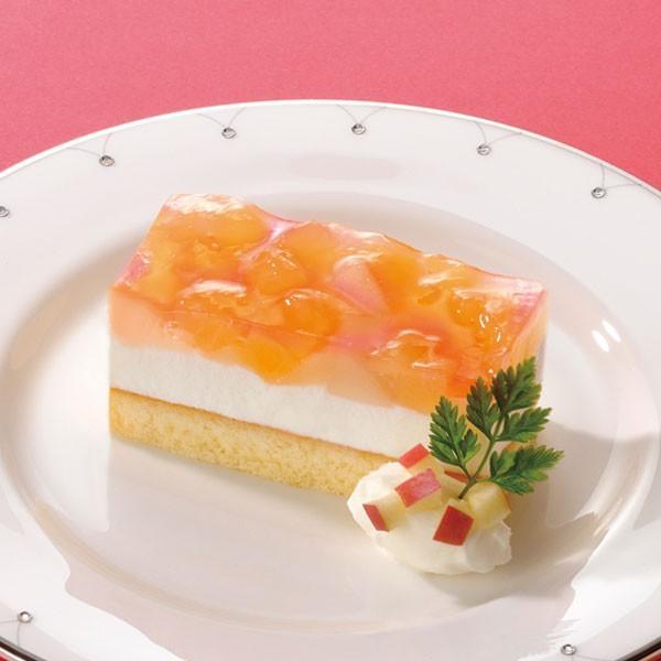 冷凍食品 業務用 フリーカットケーキ アップル&ピーチ 520g (カットなし) 17638 りんご 林檎 白桃 味の素 ケーキ デザート