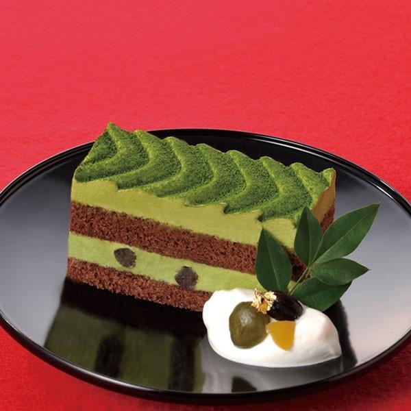 冷凍食品 業務用 フリーカットケーキ 抹茶 375g (カットなし) 17640 宇治抹茶ムース 味の素 ケーキ 洋菓子 デザート セール sale