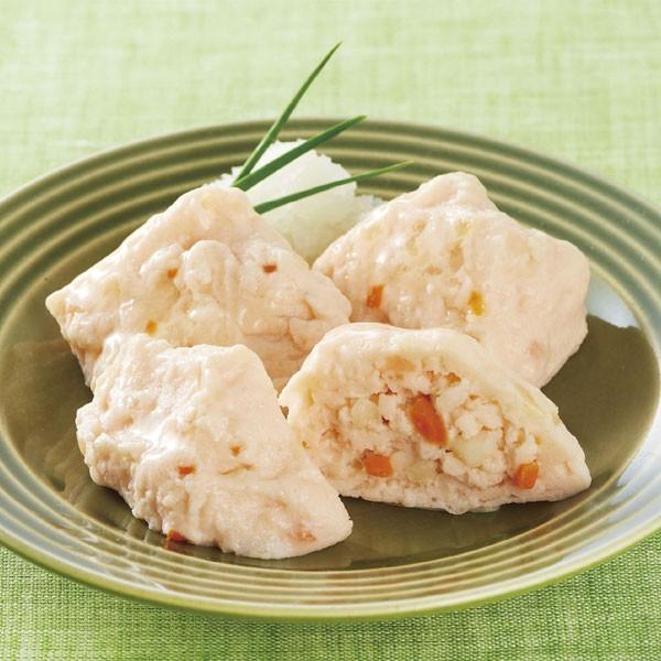 冷凍食品 業務用 かにのふわふわ豆腐 500g (20個入) 17805 弁当 弁当 カニ 和食 惣菜 一品 とうふ