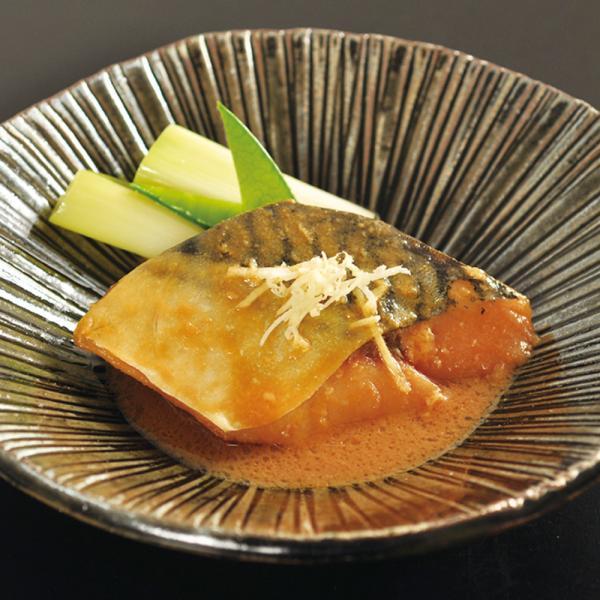 冷凍食品 業務用 楽らく調味 骨なし さば (生) 味噌煮375g (5枚入) 17812 弁当 一品 惣菜 サバ 鯖 魚料理 和食