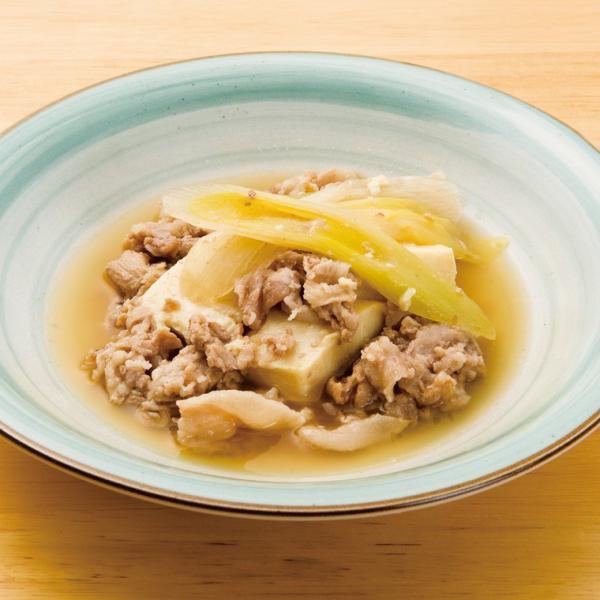 冷凍食品 業務用 豚肉豆腐 170g 18179 弁当 和食 居酒屋 個食 国産 とうふ ぶた 和食一品