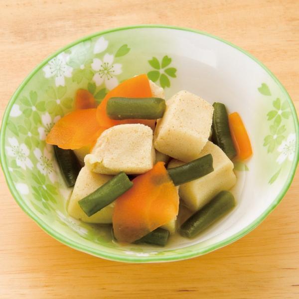 冷凍食品 業務用 高野豆腐の煮物 65g 18194 弁当 和食 居酒屋 一品 小鉢 とうふ 和食一品