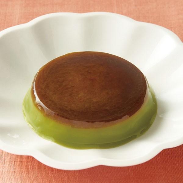 冷凍食品 業務用 抹茶プリン Ca 400g (40g×10個入) 18429 ぷりん 個包装 パーティー 給食 洋風デザート 冷たいデザート 抹茶 デザート