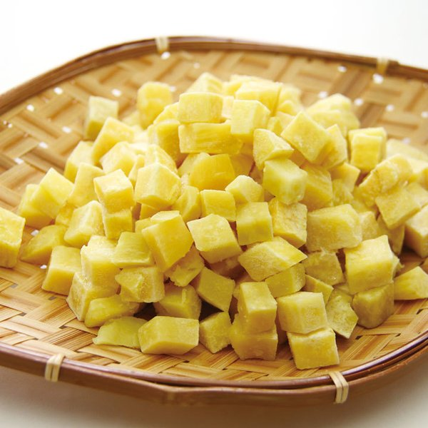 冷凍食品 業務用 皮なしさつまいもダイス 1kg 18746 弁当 サイコロ状 サツマイモ 薩摩芋 カット 野菜