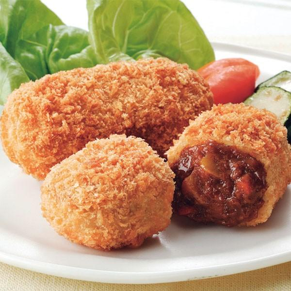 冷凍食品 業務用 欧風ビーフカレールゥコロッケ 70g×10個 18777 弁当 ころっけ フライ 洋食 おつまみ 揚げ物