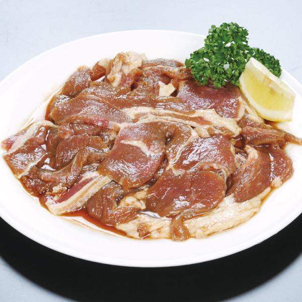冷凍食品 業務用 長沼ラムジンギスカン 500g (具350g、たれ150g) 18934 弁当 柔らかい 子羊 羊 焼肉 肉