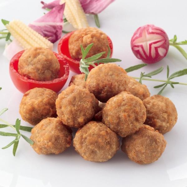 冷凍食品 業務用 国産肉使用 チキンボール 400g (50個入) 20085 弁当 国産 鶏肉 ミートボール タレなし 洋食 一品