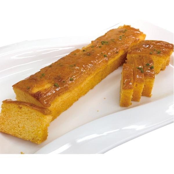 冷凍食品 業務用 雪下人参とオレンジのケーキ 320g×2本入 (カットなし) 20463 デザート 雪下人参 オレンジ 洋風デザード ケーキ