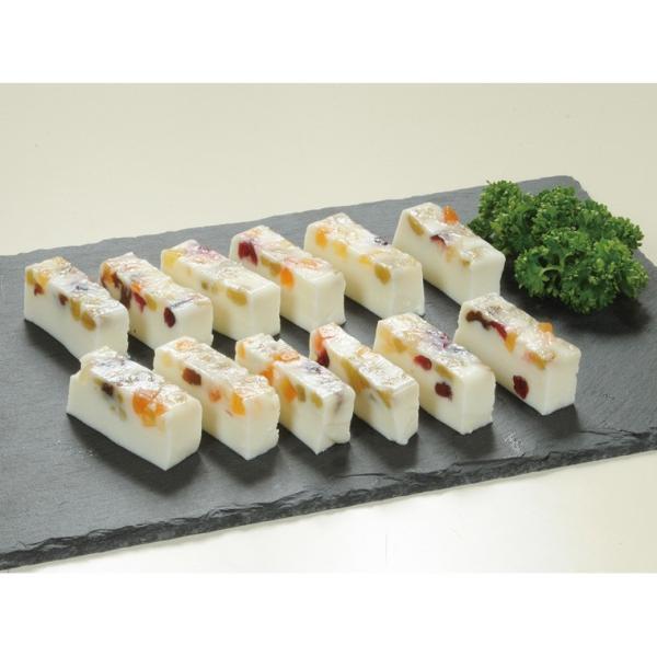 冷凍食品 業務用 フルーティーチーズ 1本 (約320g) 20585 弁当 チーズ ドライフルーツ オードブル 前菜 重詰め 洋食 一品