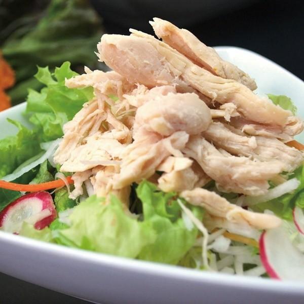 冷凍食品 業務用 蒸し鶏 (手ほぐし) 500g 21572 弁当 サラダ 和食 洋食 中華 チキン 胸肉 蒸し