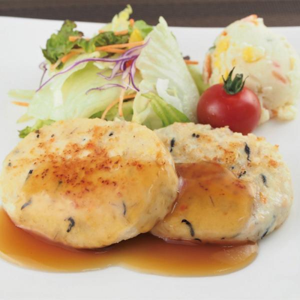 冷凍食品 業務用 国産 もち麦と大豆の豆腐ハンバーグ 60g×10個入 21654  だいず 鶏肉 レンジ