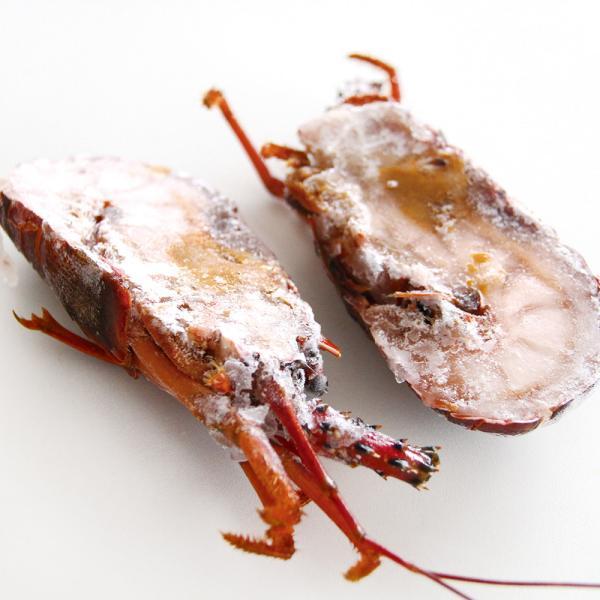冷凍食品 業務用 刺身用 伊勢エビ ( 二つ割 ) 大 1尾入 21687 弁当 さしみ おつくり 魚介 海老 鍋食材 海鮮