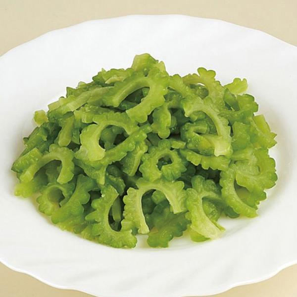 グルメ 冷凍食品 業務用 ゴーヤスライス 500g 21727 販売期間4月末〜8月  旬 夏 野菜 ゴーヤー にがうり カット野菜