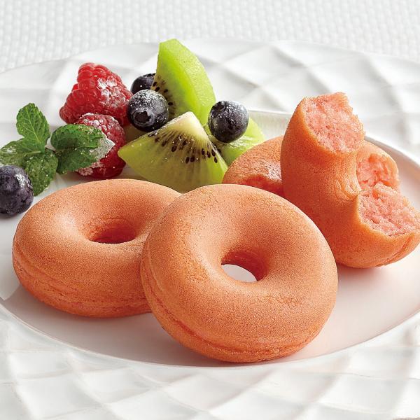 冷凍食品 業務用 焼きドーナツ (いちご味) 25g×10個入 21819 ドーナッツ 焼ドーナツ 苺 おやつ 軽食