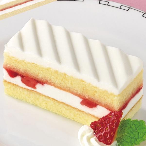 冷凍食品 業務用 フリーカットケーキ いちごショートケーキ (北海道産生クリーム使用) 375g (カットなし) 21885